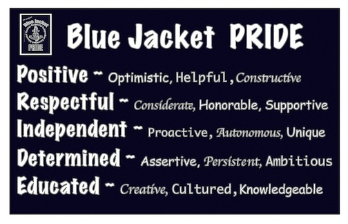 Blue Jacket PRIDE
